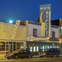 Main Street theater Sauk Centre MN - ExplorationVacation.net