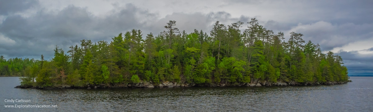 Rainy Lake, Voyageurs National Park, ExplorationVacation.net