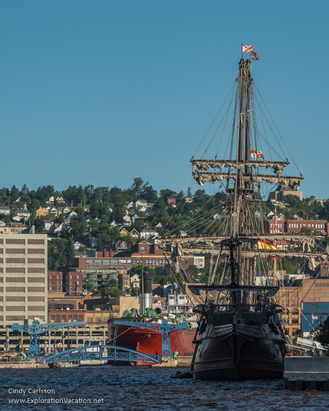 Duluth Tall Ship Festival - El Galeon Andalucia - www.ExplorationVacation.net
