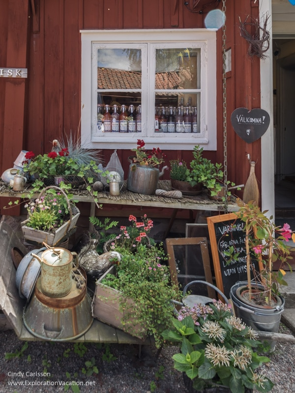 Grassagården Cafe Strängnäs Sweden - www.ExplorationVacation.net