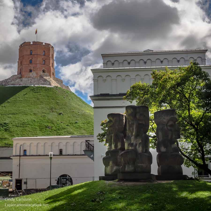 castle tower Vilnius Lithuania - www.explorationvacationet