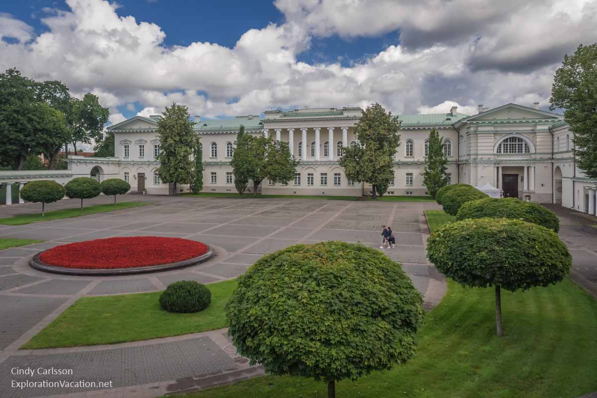 Presidential Palace Vilnius Lithuania Old Town - www.ExplorationVacation.net