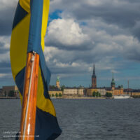 Stockholm Sweden from the water - www.ExplorationVacation.net