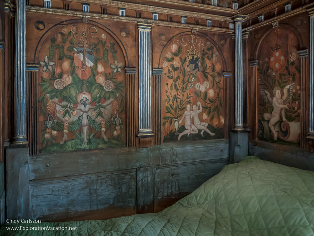 Duke Karl's chamber in Gripsholm Castle Mariefred Sweden - www.ExplorationVacation.net