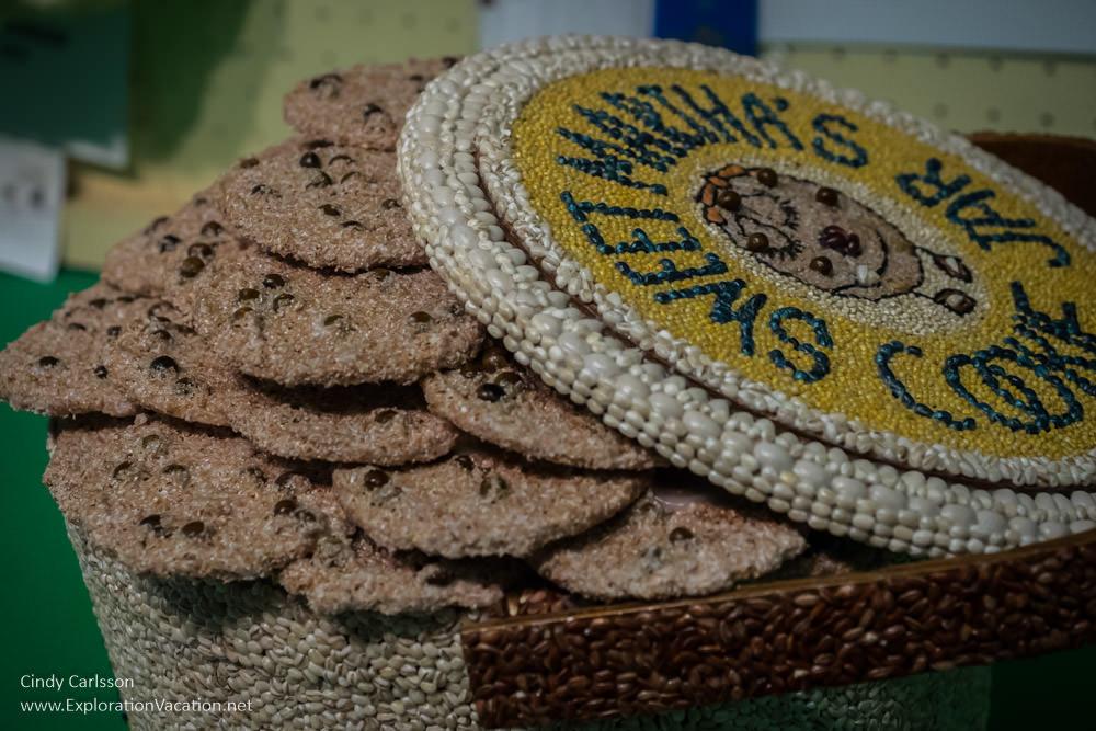 Sweet Martha's cookies as seed art