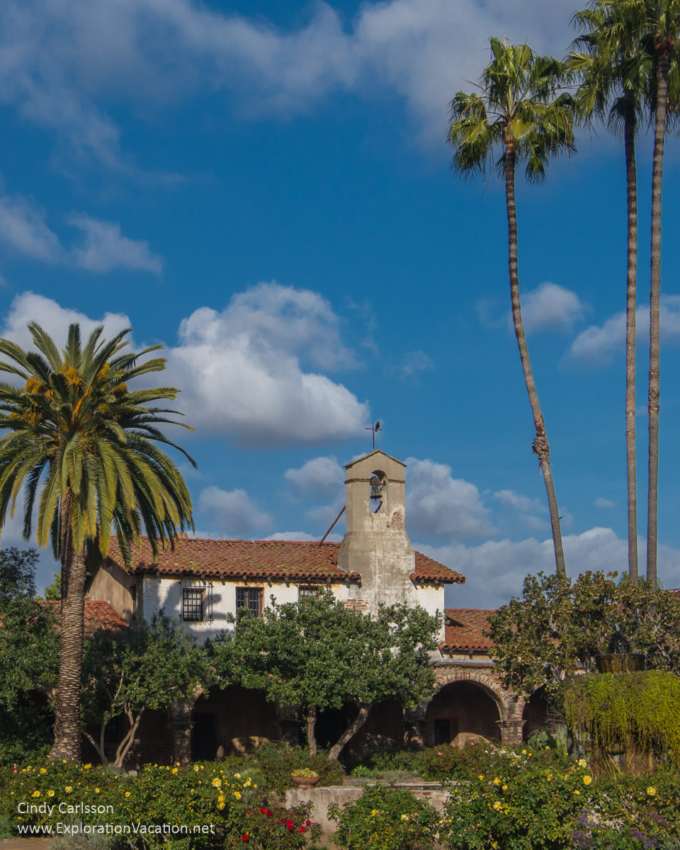 Walk through Mission San Juan Capistrano on the California Mission Trail - ExplorationVacation