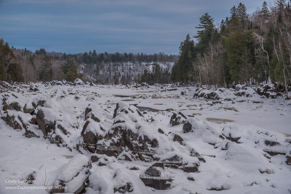 Winter in Minnesota's Jay Cooke State Park - www.ExplorationVacation.net
