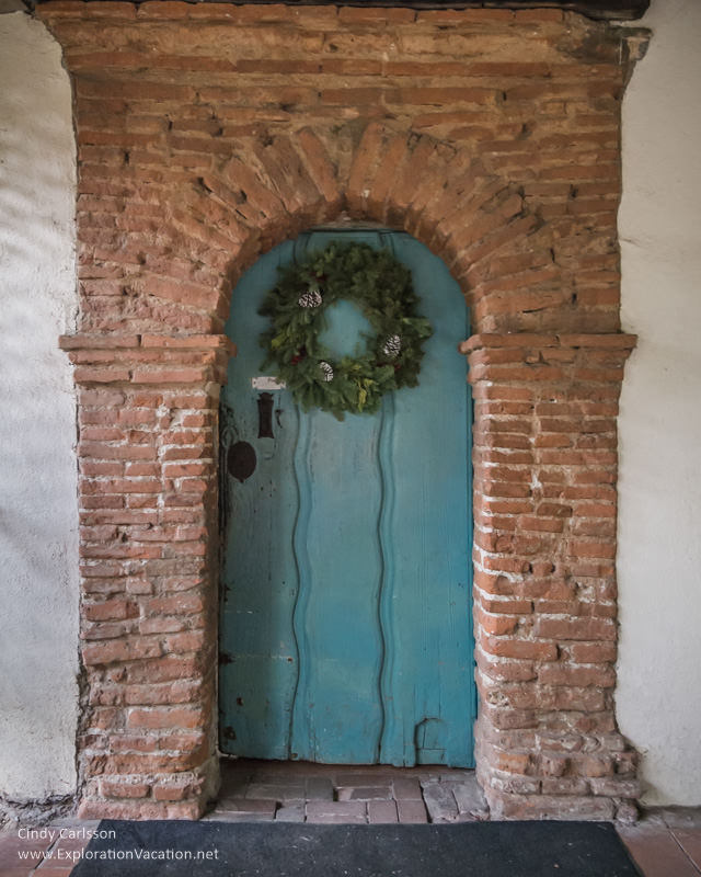 door Mission San Juan Bautista California - www.ExplorationVacation.net