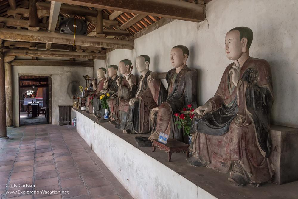 Arhats Mia Pagoda Duong Lam village Vietnam - www.ExplorationVacation.net