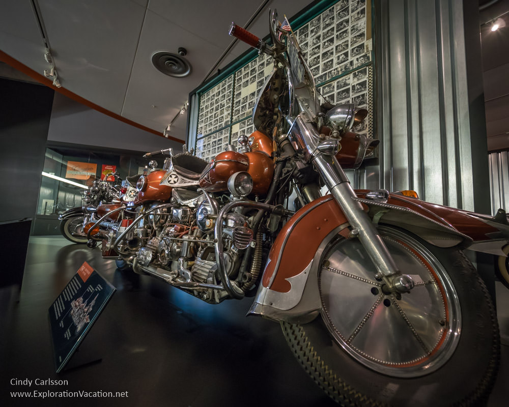 Harley-Davidson Museum Milwaukee Wisconsin - www.ExplorationVacation.net