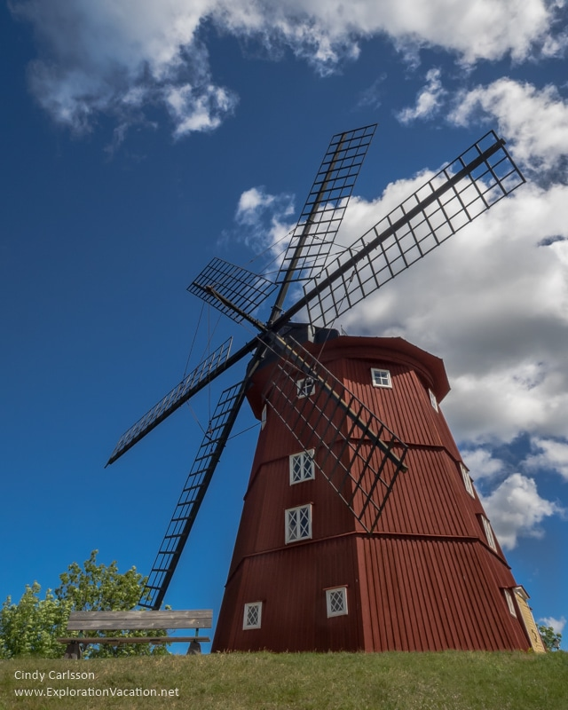 windmill Strängnäs Sweden -www.ExplorationVacation.net