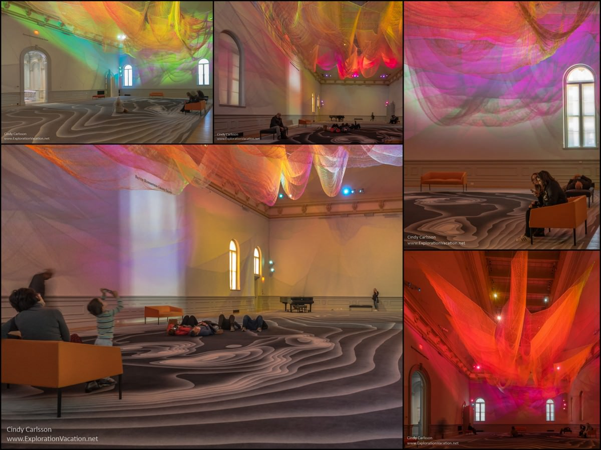 Janet Echelman Renwick Gallery Washington DC - www.ExplorationVacation.net