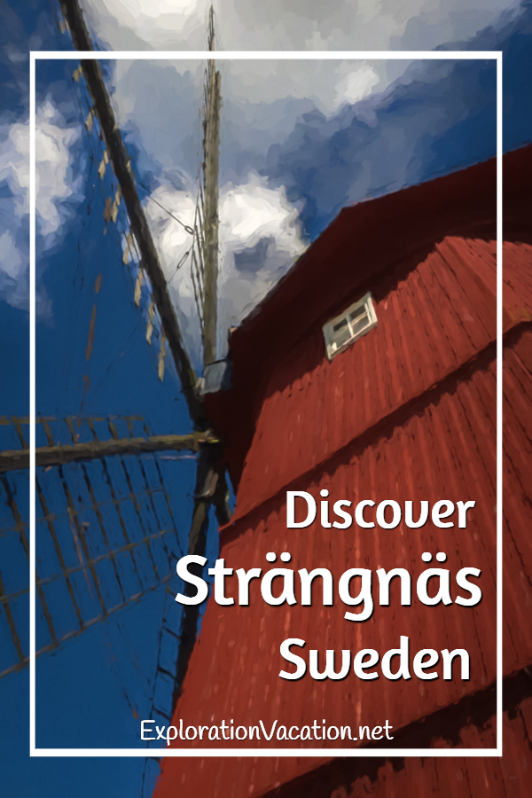 Historic Strängnäs #Sweden is perfect the perfect place to wander - ExplorationVacation #VisitSweden #StockholmCountryBreak #summerinsweden