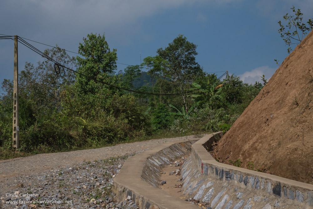 road construction Northern Vietnam - ExplorationVacation