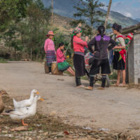 Vietnam road trip Black Hmong village Sapa - ExplorationVacation
