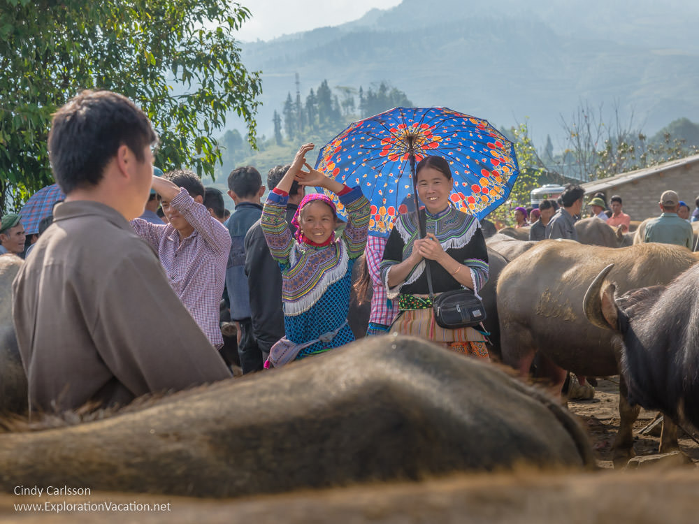 Bac Ha market Northern Vietnam road trip - ExplorationVacation