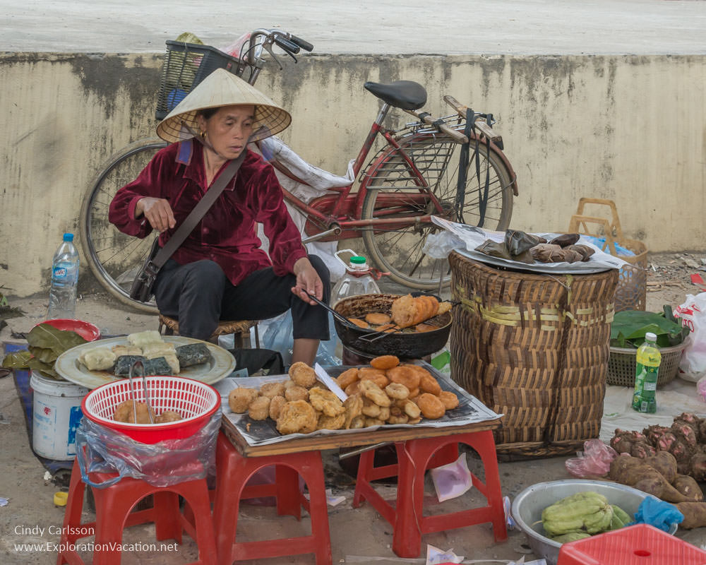 street food Bac Ha market Northern Vietnam road trip - ExplorationVacation
