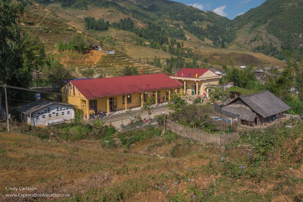 Northern Vietnam road trip Hmong school Sapa - ExplorationVacation