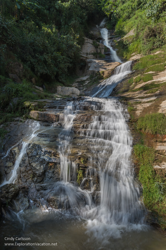 waterfall Northern Vietnam road trip - ExplorationVacation