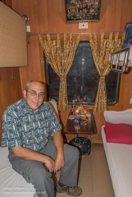 Night train to Sapa northern Vietnam road trip - ExplorationVacation