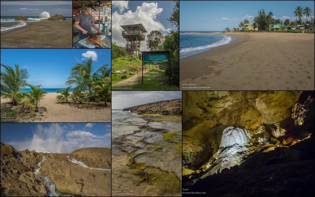 Puerto Rico North Coast Road Trip collage - ExplorationVacation.net