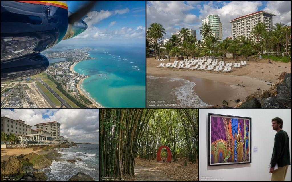 Puerto Rico San Juan Condado collage