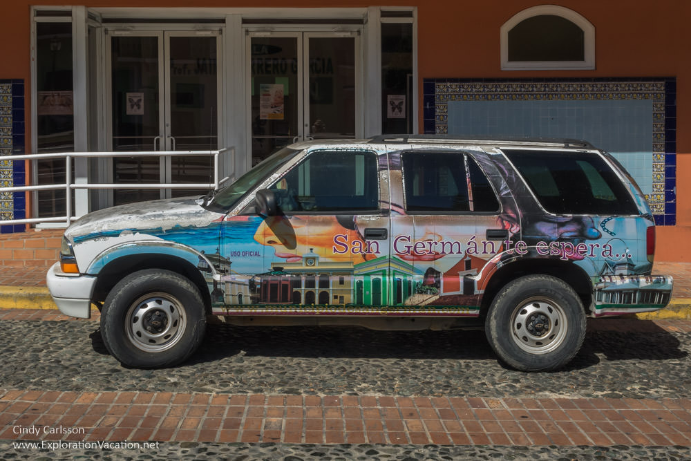 car in San German Puerto Rico - www.ExplorationVacation.net