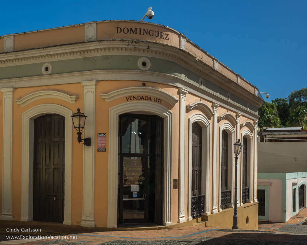 Dominguez pharmacy San German Puerto Rico - www.ExplorationVacation.net