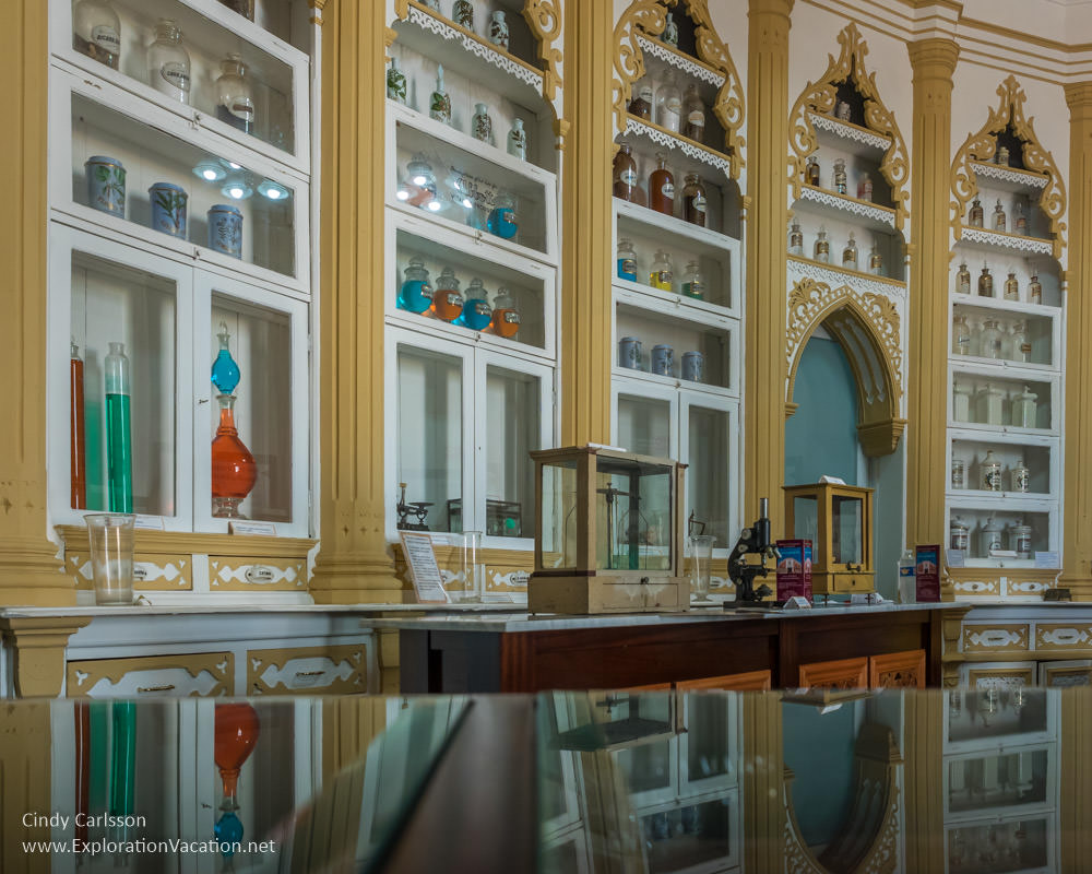 Dominguez pharmacy museum San German Puerto Rico - www.ExplorationVacation.net