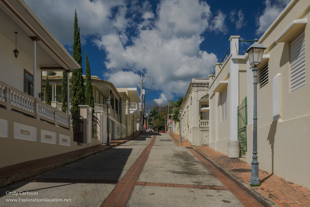 historic buildings in San German Puerto Rico - www.ExplorationVacation.net