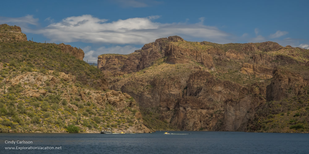 Dolly Steamboat cruise Canyon Lake Apache Trail Arizona - www.explorationvacation.net