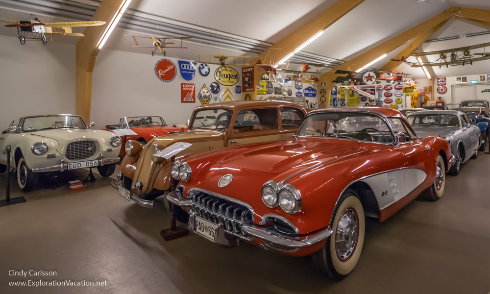 Sparreholm Castle car museum Sweden - www.ExplorationVacation.net