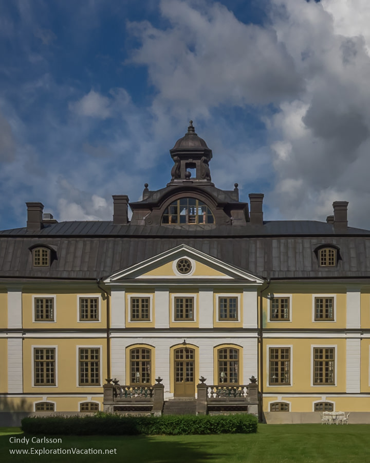 Sparreholm manor in rural Sweden just beyond Stockholm - ExplorationVacation #Sweden #VisitSweden #VisitSörmland #sponsoredtravel