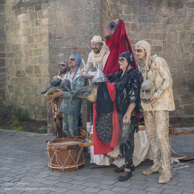 of Compagnie L'Envolante 2017 Guerande Medieval Festival France - www.ExplorationVacation.net