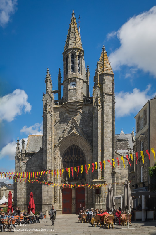 Saint Aubin's Church 2017 Guerande Medieval Festival France - www.ExplorationVacation.net