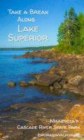 Cascade River picnic area Lake Superior North Shore Minnesota - www.ExplorationVacation.net