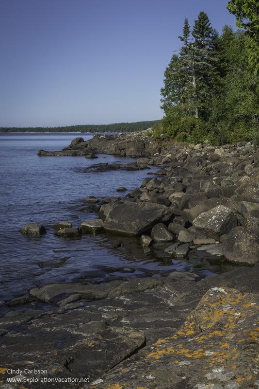 Lake Superior Cascade river picnic area Minnesota North Shore - www.ExplorationVacation.net