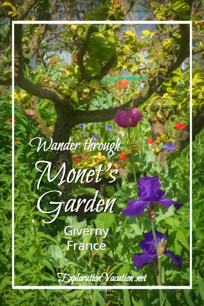 A visit to Claude Monet's garden