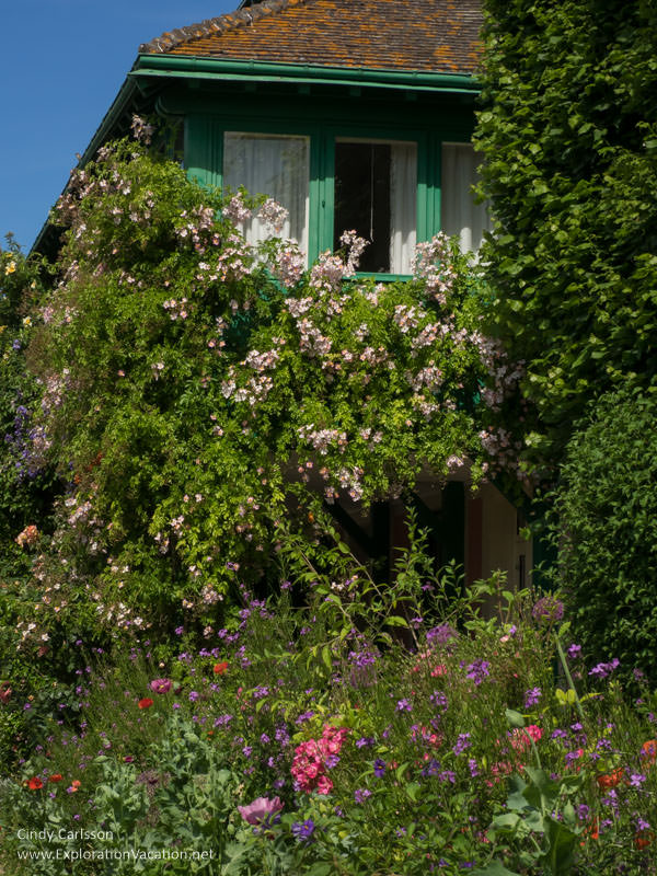 Monet's Garden Giverny France - www.explorationvacation.net