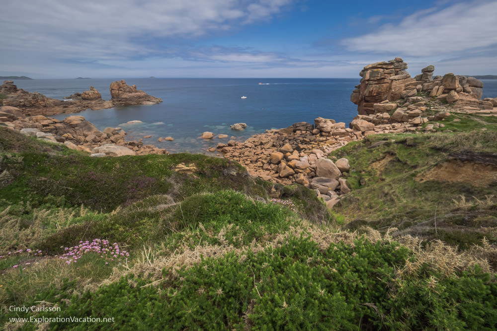 The Pink Granite Coast (Côte de Granit Rose) Brittany France - www.ExplorationVacation.net
