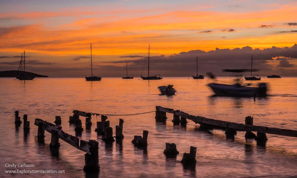 Sunset in Boquerón - www.ExplorationVacation.net