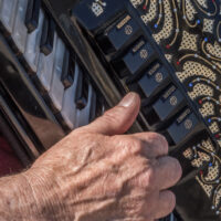 Playing the melody at the Accordionathon outside the Minnesota State Capitol in St Paul for Make Music Twin Cities 2017 - ExplorationVacation #MakeMusic #Minnesota #MyStPaul #USA #accordionathon