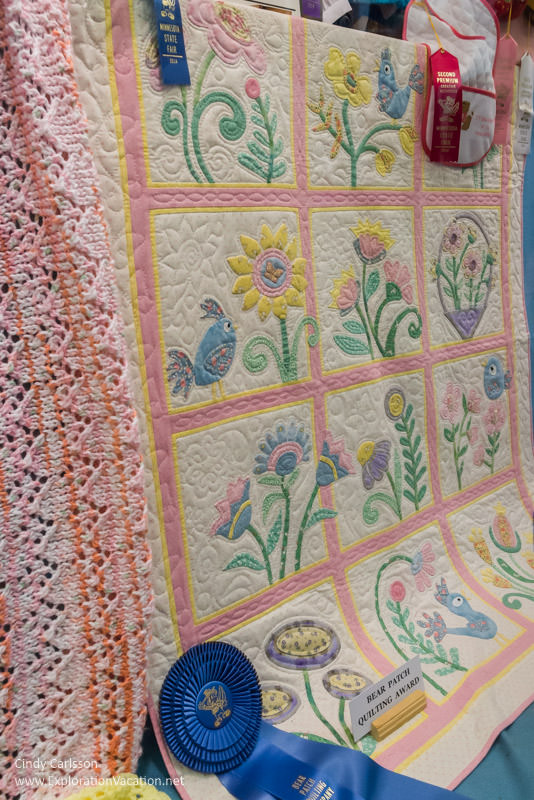 Quilting favorites at the Minnesota State Fair - www.ExplorationVacation.net