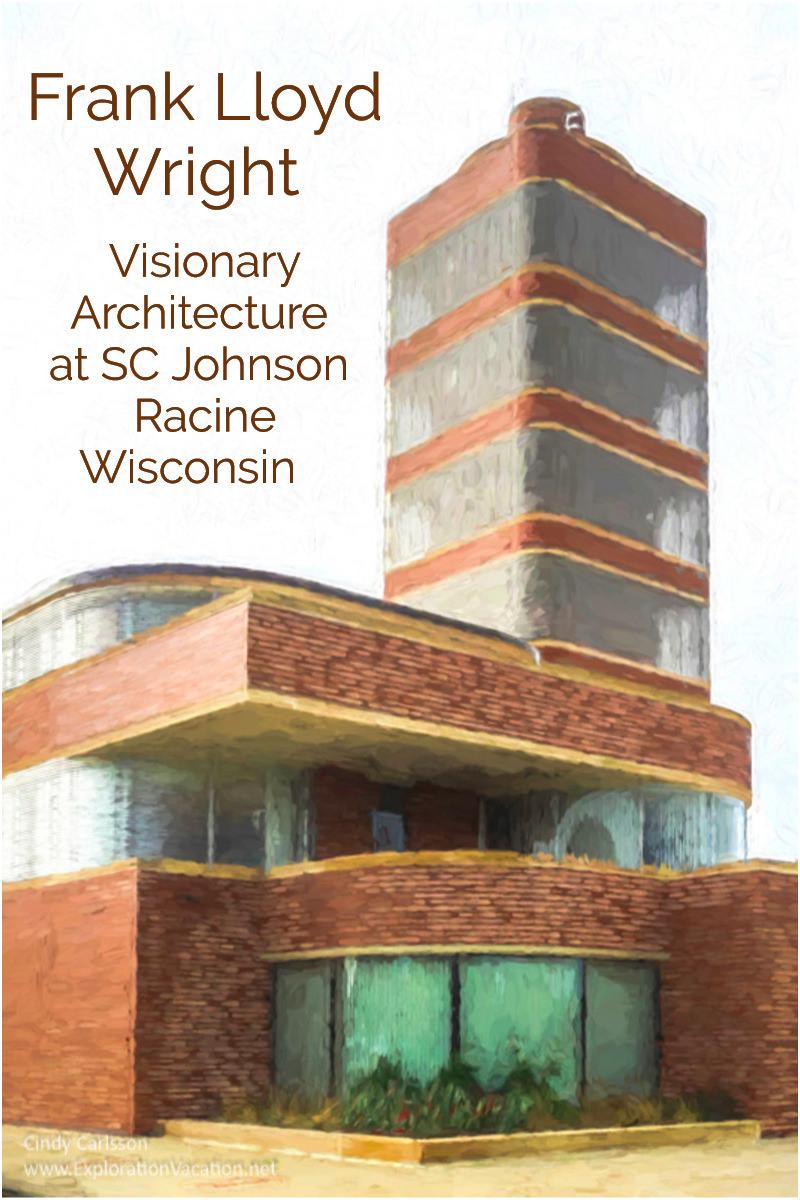 sc johnson architecture tour racine wisconsin exploration vacation