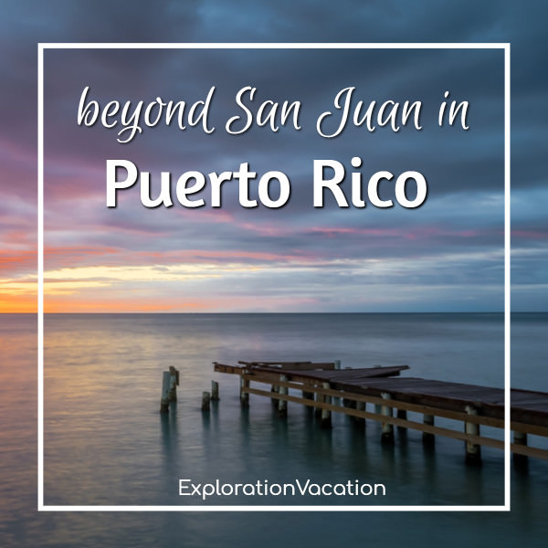 "dock with text ""beyond San Juan in Puerto Rico"""