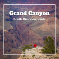 Link to scenic overlooks at Grand Canyon South Rim