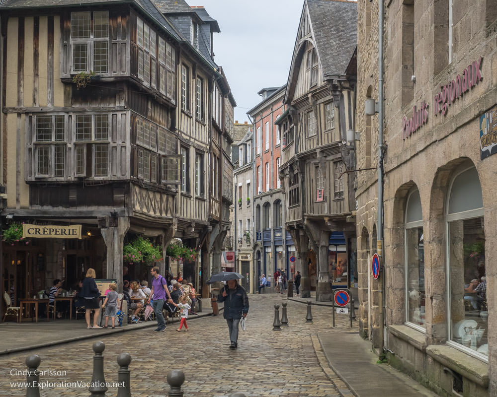 Dinan, France - www.ExplorationVacation.net