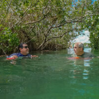 Mayan canal float Sian Ka'an tour Tulum Mexico @ www.ExplorationVacation.net