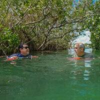 Mayan canal float Sian Ka'an tour Tulum Mexico @ www.ExplorationVacation.net