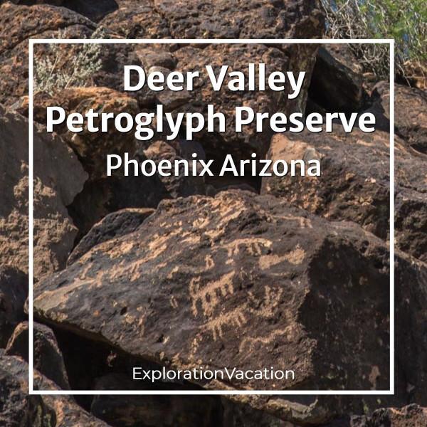 link to Deer Valley Petroglyph Preserve Phoenix Arizona